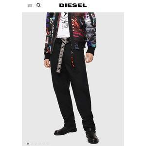 P-Toshi Diesel Chino Pant w/ Reversible Logo Belt